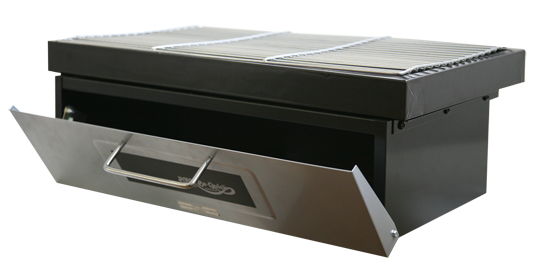 built in bbq. Build In Grill And Bake Greill Oven Door Open Built Bbq