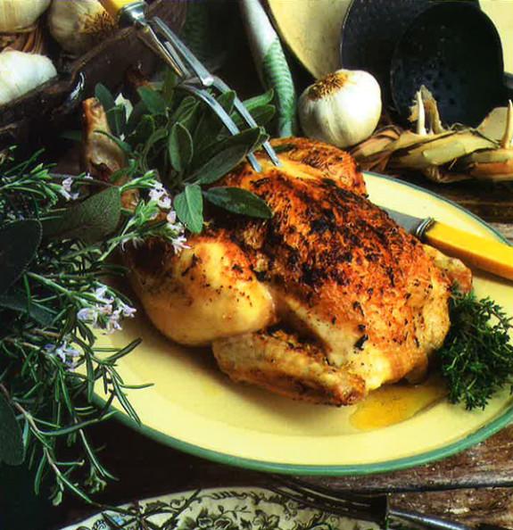 Chicken Garlic With Fresh Herbs Recipe: Chicken With Fresh Herbs And Gralic